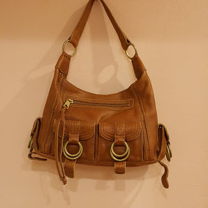 Banana Republic Vintage Brown bag purse handbag